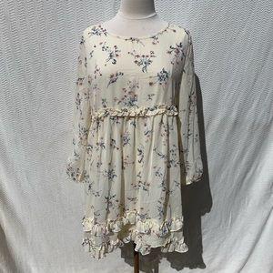 Metro Xl floral  Long sleeve Dress
